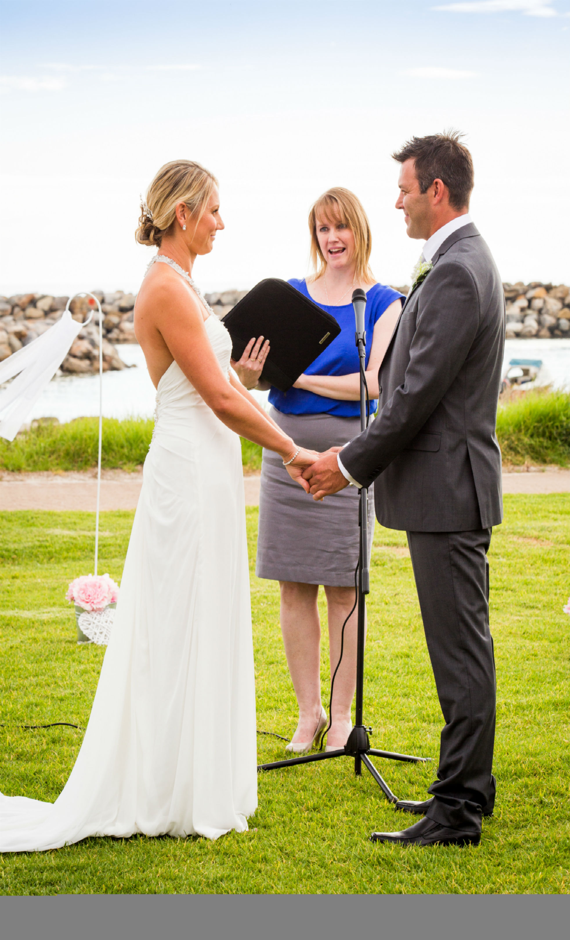 Kyra and Luke Adelaide Sailing Club Wedding