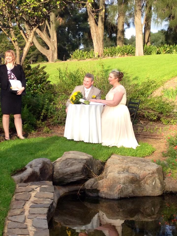 Nicky and Carl Veale Gardens Wedding